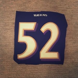 💜NFL LICENSED RAY LEWIS JERSEY (Nike)💜